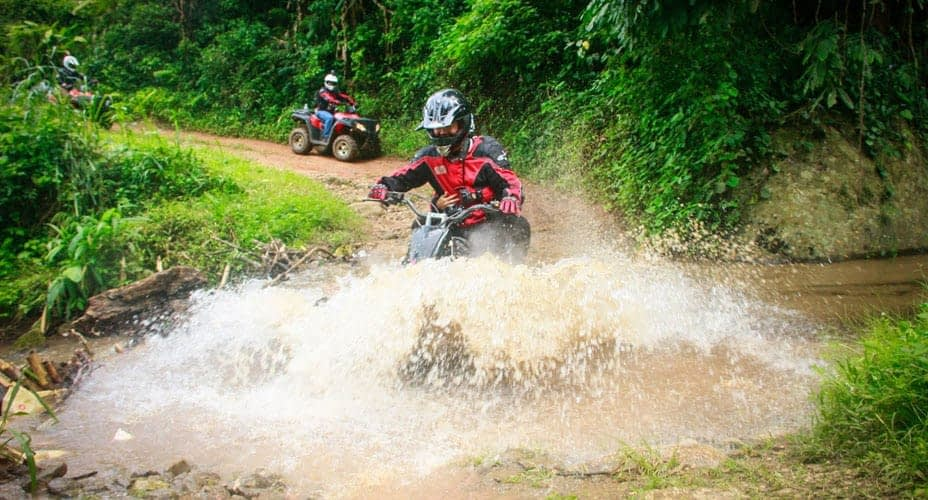 water riding in chiang mai atv