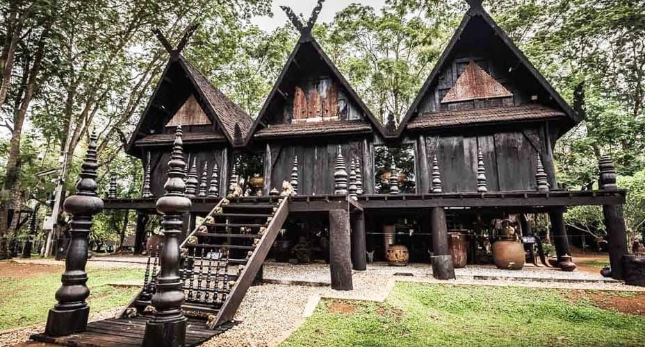 black house chiang rai from chiang mai