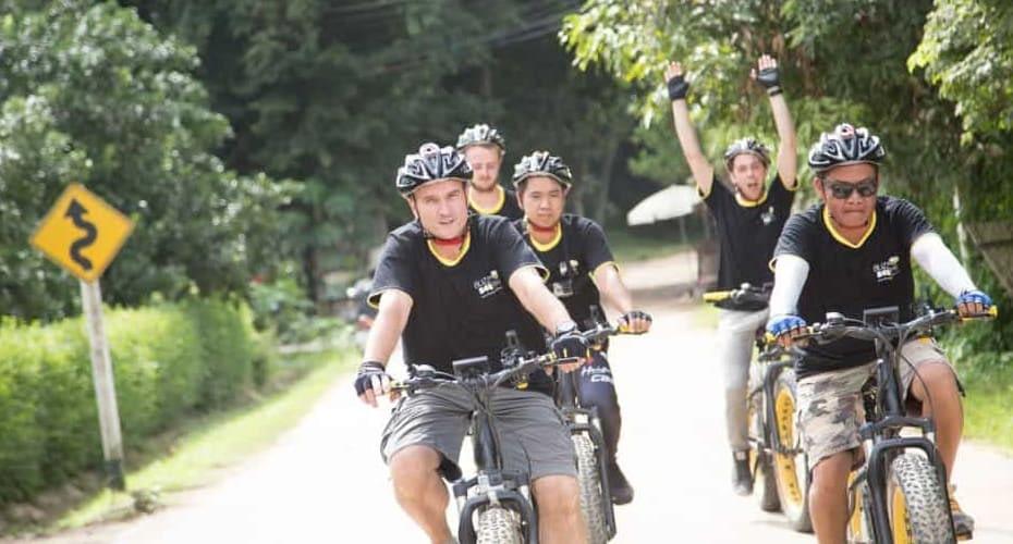 electric bike tour chiang mai to ping river