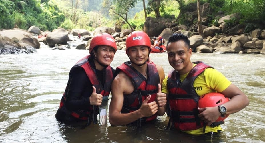 chiang mai rafting the peak