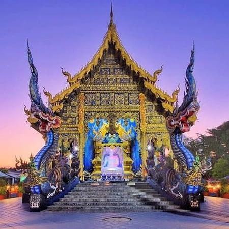 chiang rai blue temple white temple black house tour