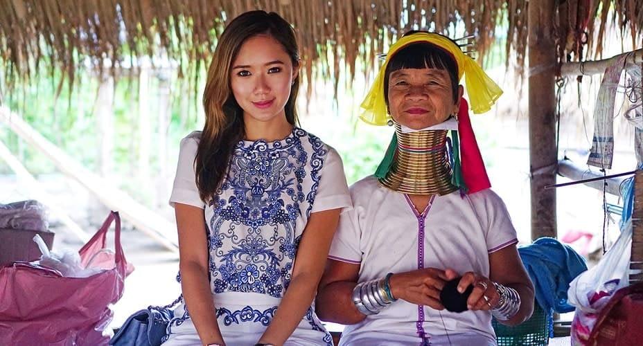 karen longneck tribe chiang rai tour
