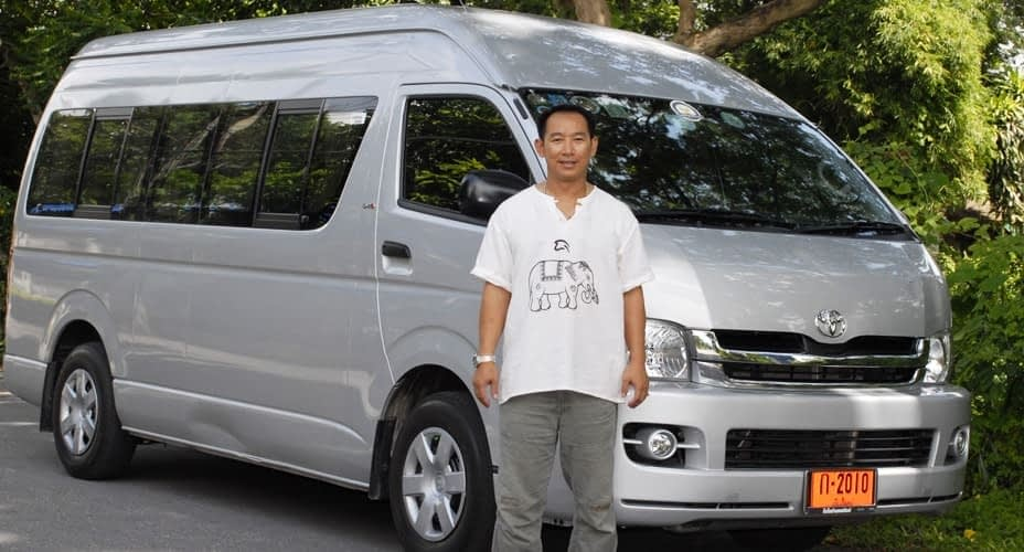 pickup from chiang mai by air conditioned van tour chiang rai