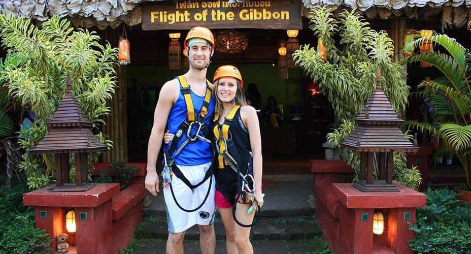 gibbon flight chiang mai tour