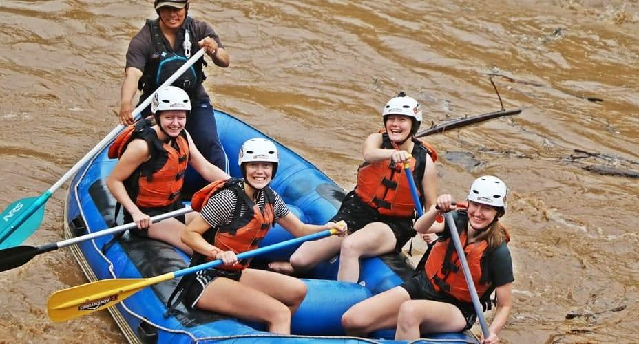 best rafting trip chiang mai