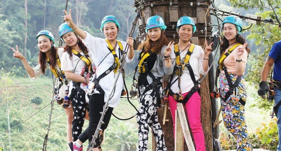 eagle group zipline chiang mai