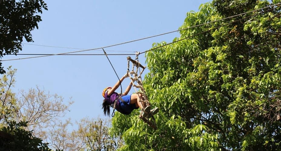 zipline at phoenix adventure park