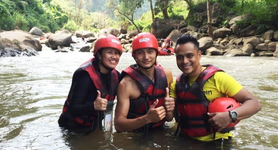 chiang mai rafting the peak