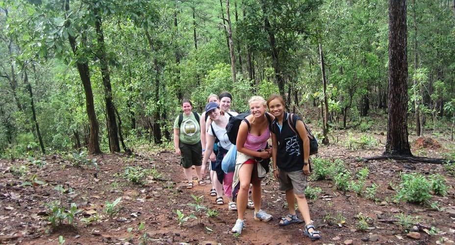 mae wang trekking experience