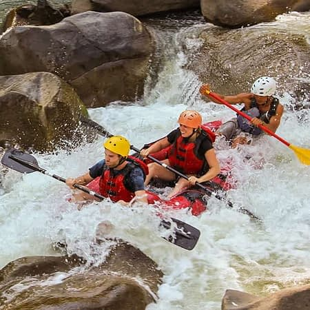 chiang mai rafting experience