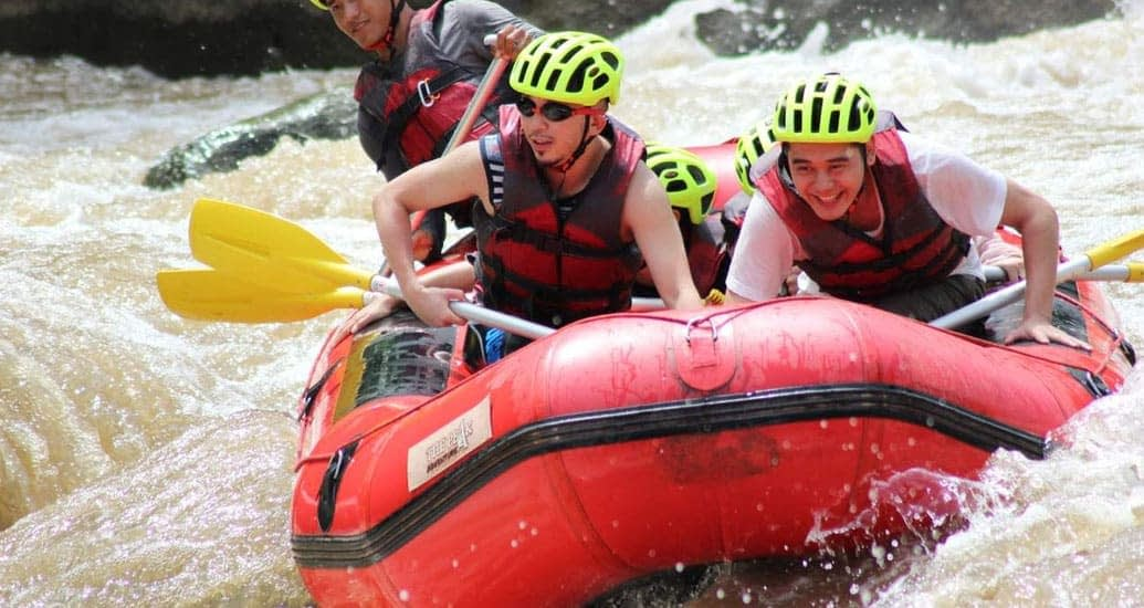things to do white water rafting chiang mai