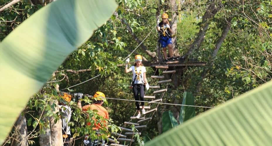 zipline at chiang mai