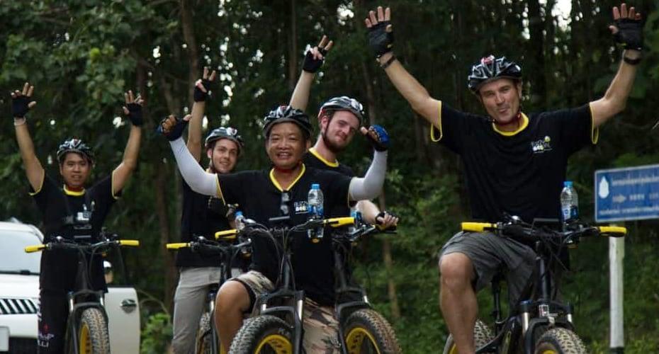 bike tour ebike chiangmai