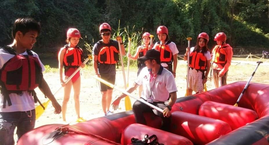 white water rafting tour chiang mai