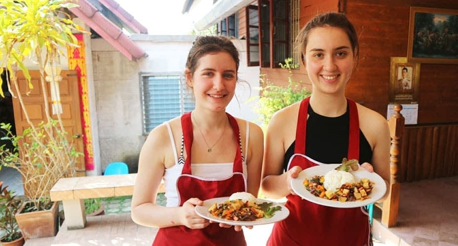 organic cooking school chiang mai