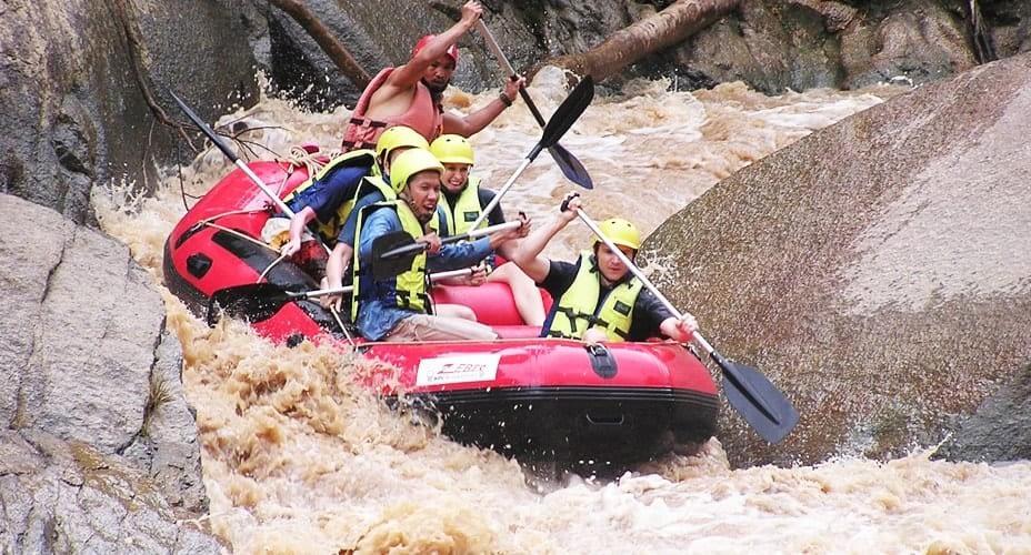 rafting mae teng river chiang mai tour
