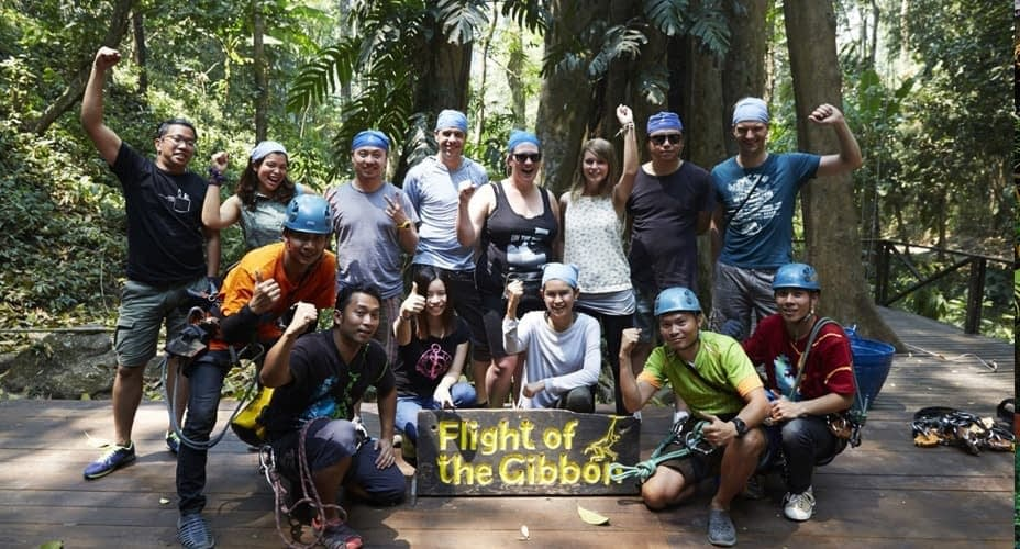 zipline flight of the gibbon chiang mai tours