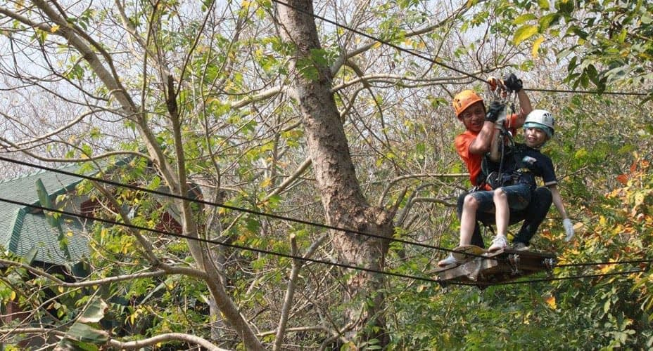 treetop canopy zipline chiang mai